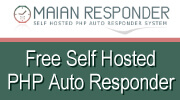 Maian Responder - Free self hosted php auto responder