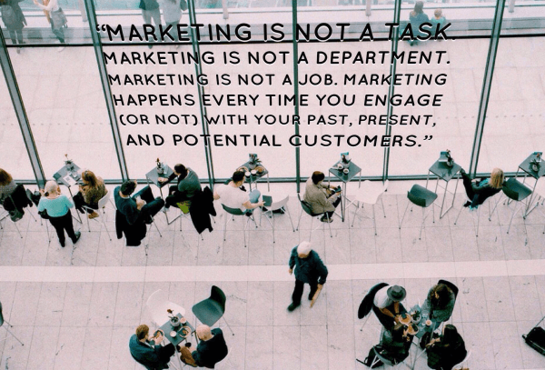 Marketing is not a task