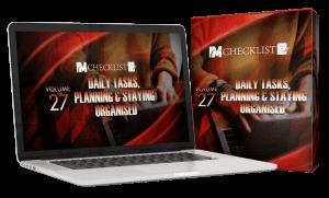 IM Checklist Volume 27 Daily Tasks, Planning & Staying Organised